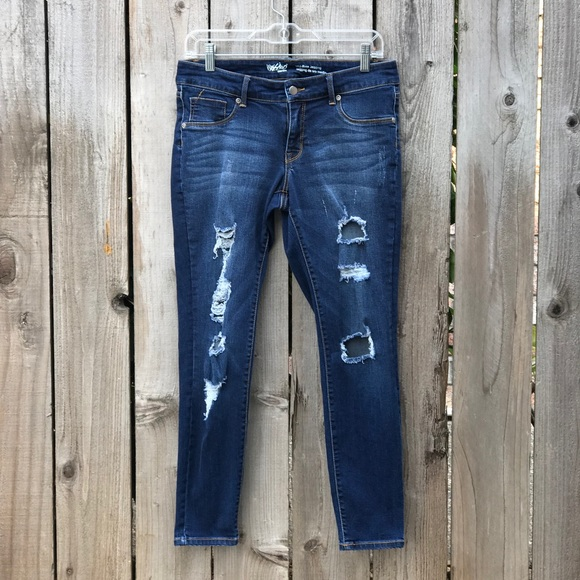 73323bab18681 Mossimo Supply Co. Jeans | Mossimo Midrise Jegging Distressed | Poshmark